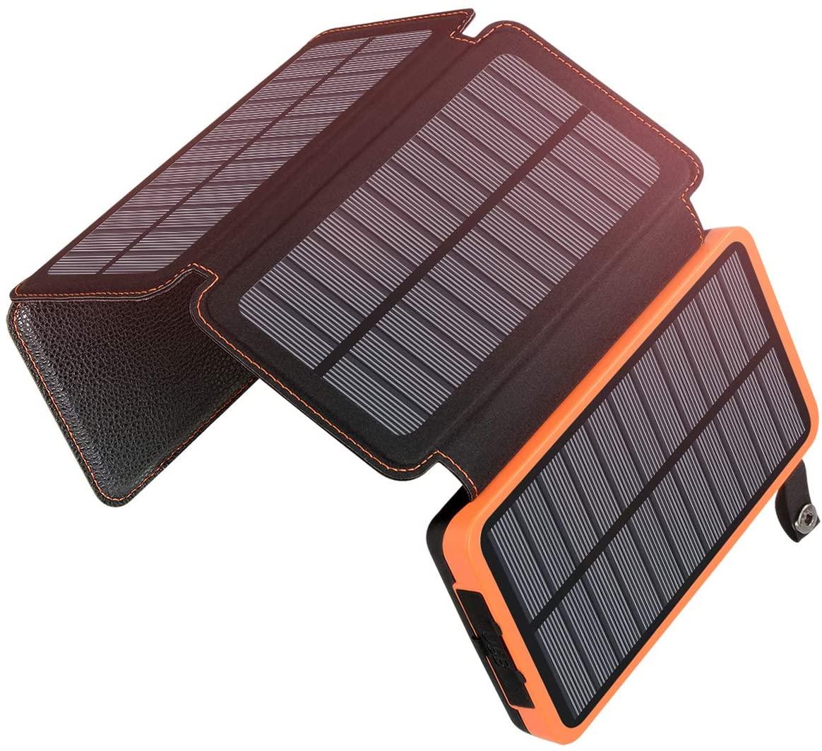 Batería solar móvil